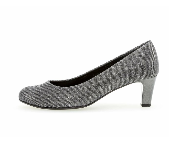 Eleganter Pumps Textil grau p331939 #0