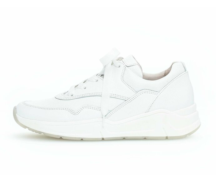 Low sneaker Smooth leather white p587985 #0