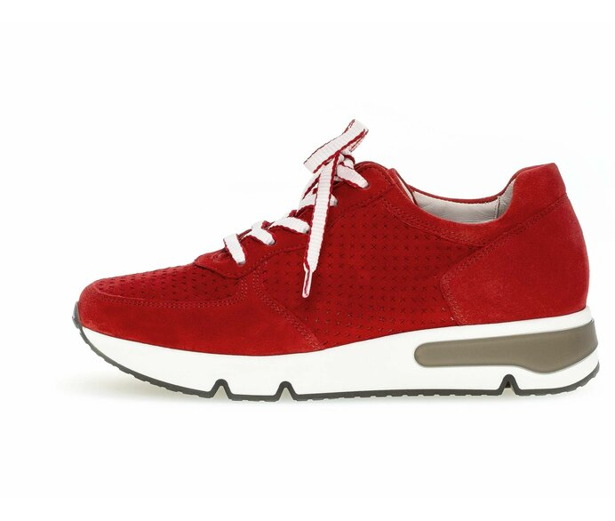 Low sneaker Full-grain leather red p588384 #0