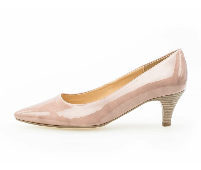 Eleganter Pumps Lederimitat rosa p337382 #0