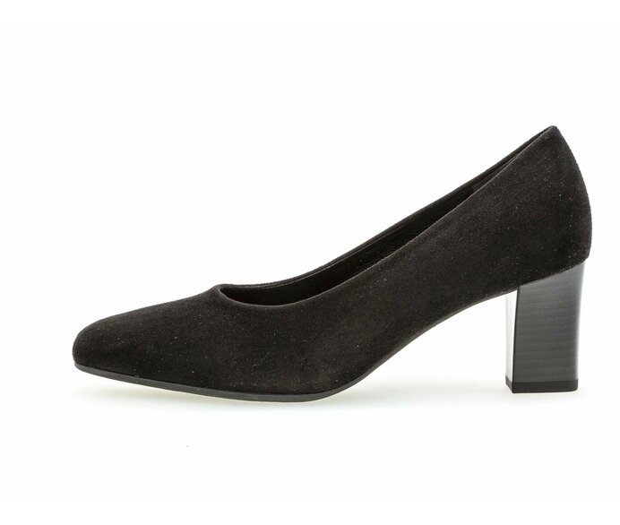Eleganter Pumps Lederimitat schwarz p337377 #0