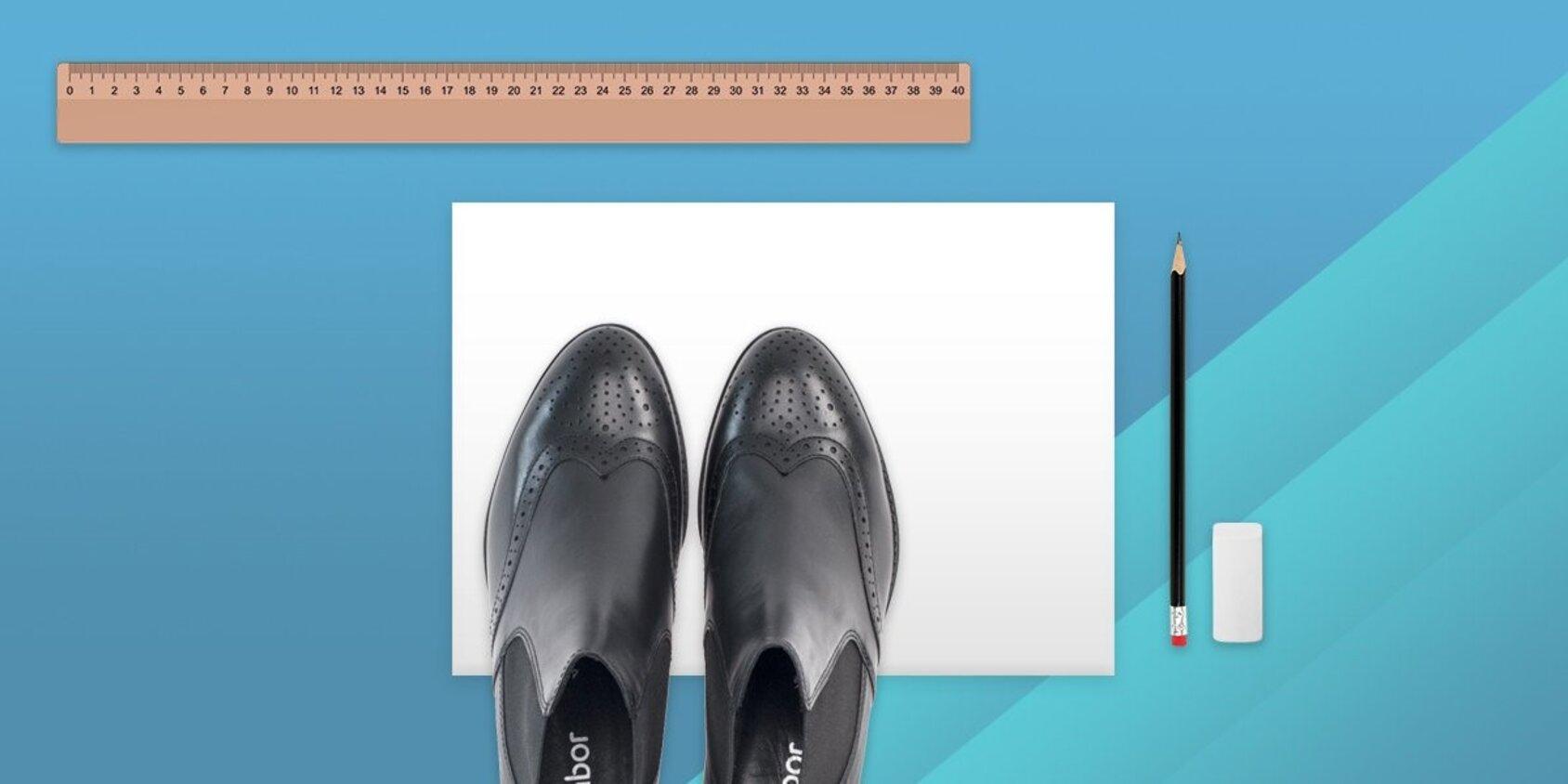 Die richtige Schuhgröße ermitteln: So geht's! | Gabor