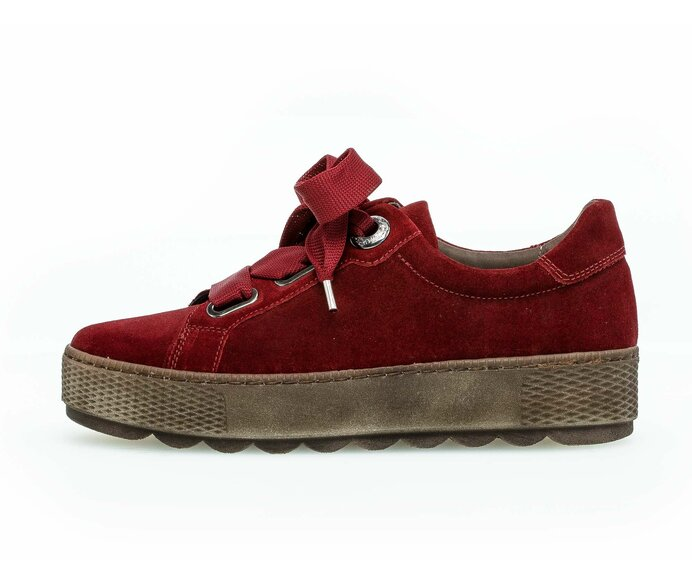 Low sneaker Full-grain leather red p3472300 #0
