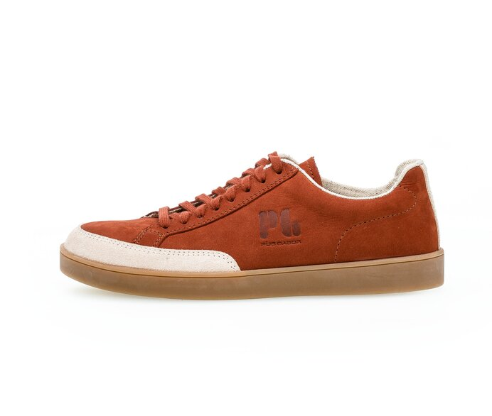 PG1919 Low sneaker Full-grain leather red p3692479 #0