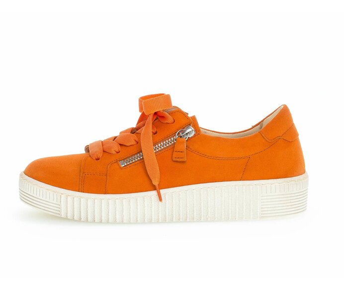 Sneaker low Rauleder orange p623389 #0