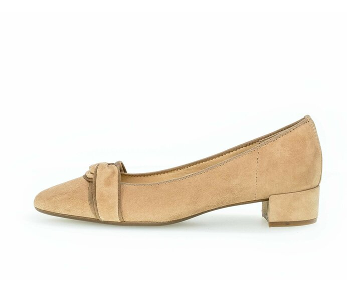 Eleganter Pumps Rauleder beige p609871 #0