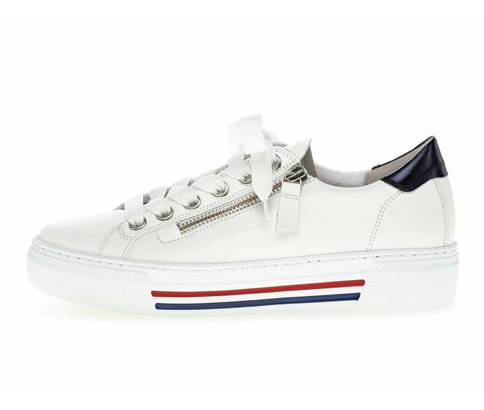 Low sneaker Smooth leather white p588593 #0