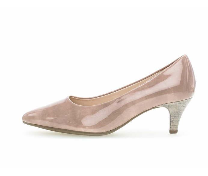 Eleganter Pumps Lederimitat rosa p587762 #0